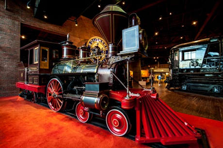 California State Train Museum - Sacramento