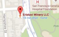 Eristavi Winery Map - San Francisco