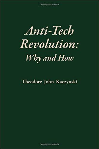 Anti-Tech Revolution:Why and How